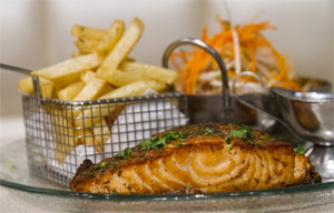 Waffle Bar Ramat Eshkol -  Fish and Chips